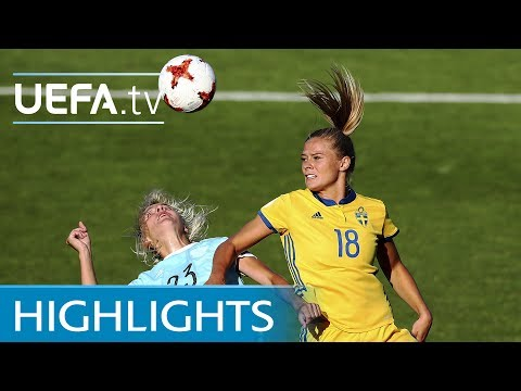 Women's EURO Highlights: Sweden 2-0 Russia