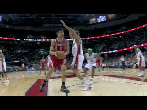 Lebron James block Yao Ming nba - YouTube