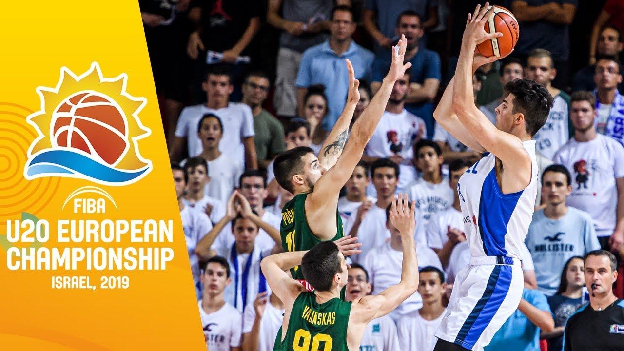 Download Israel v Lithuania - Full Game - FIBA U20 European Championship 2019