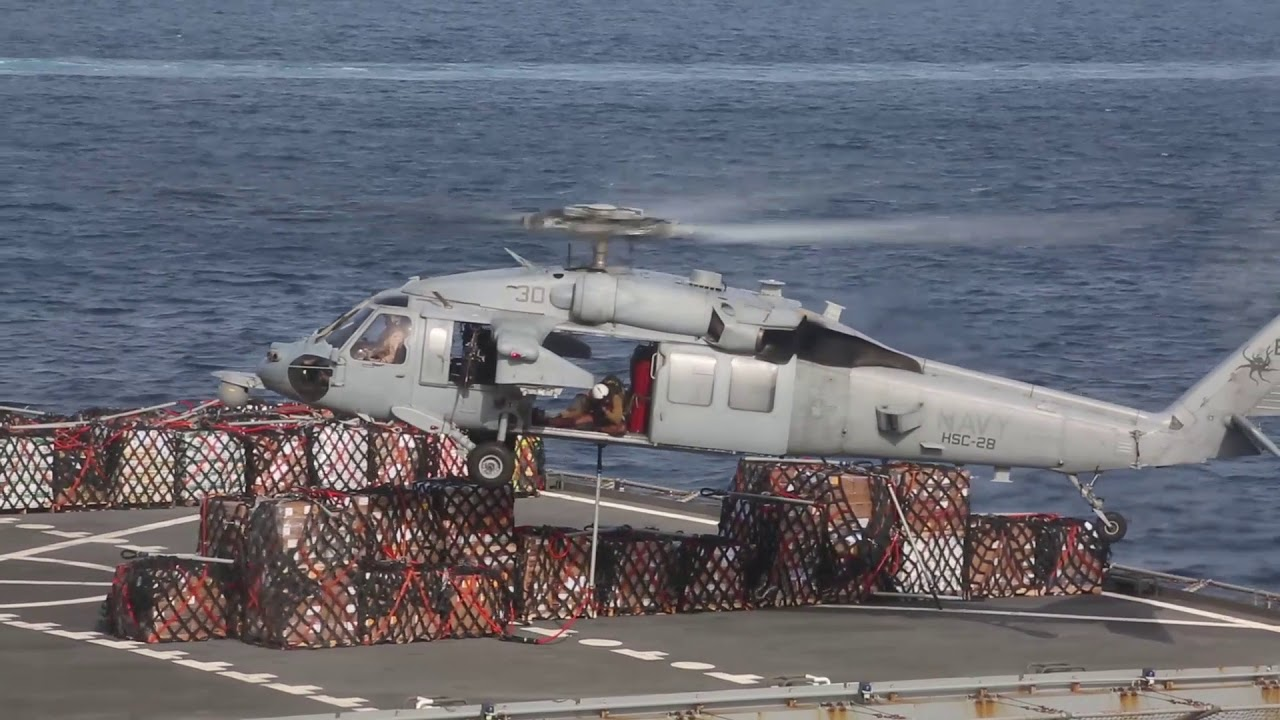 USS New York Conducts Flight Operations in Arabian Gulf – April 2020