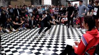 Platform 5 Hip Hop Festival 2012 B BOY BATTLE Trickatrons vs NAACALS   prelim