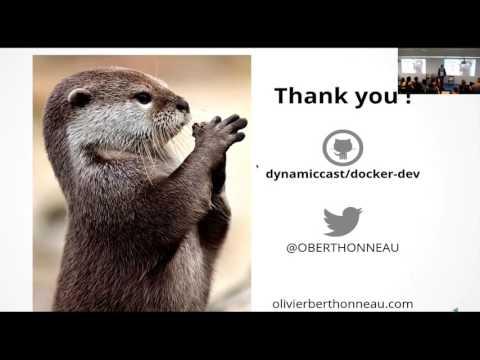 Ameliorer l'accueil de vos contributeurs avec Docker par Olivier Berthonneau