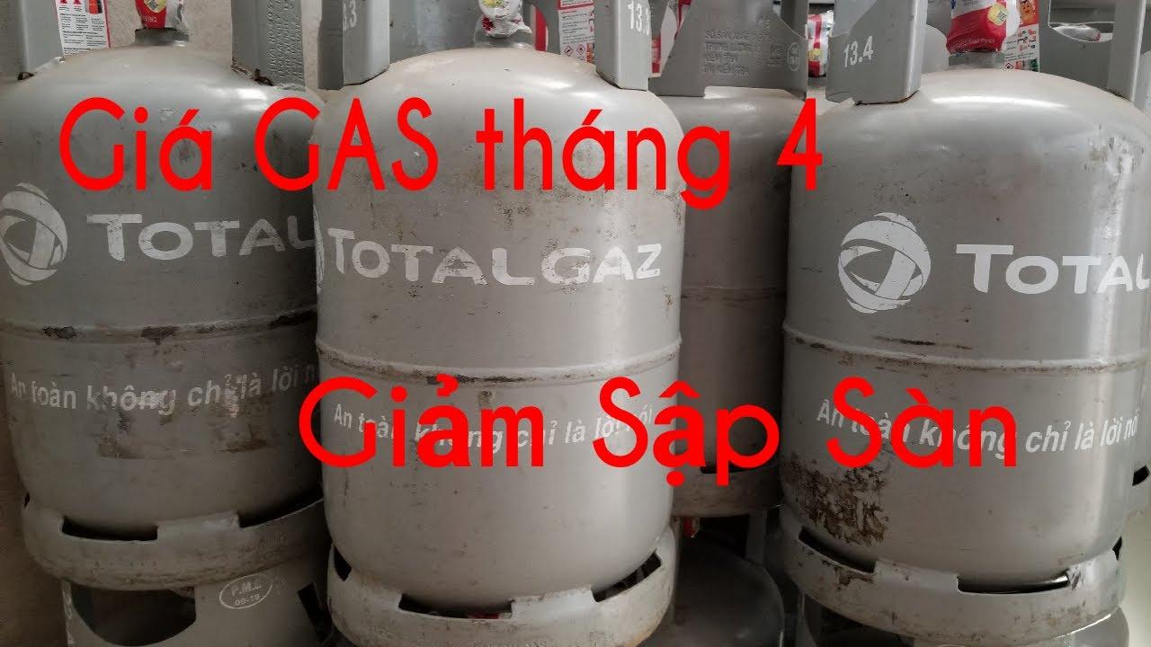 🔴 Giá GAS tháng 4 năm 2020. Giảm trên 50000 đồng cho bình 12kg. Dự báo giá gas