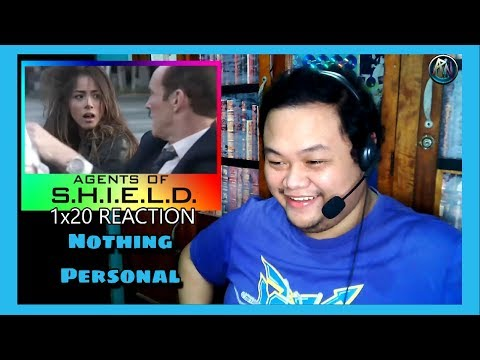 """Marvel's Agents Of SHIELD 1x20 """" Nothing Personal """" Reaction"""