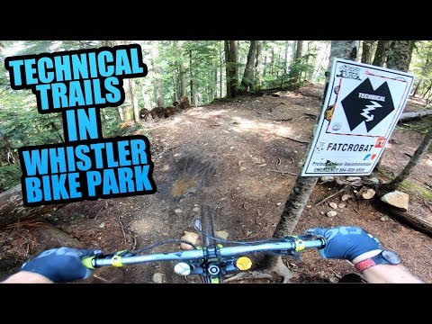 riding-the-most-technical-mtb-trails-in-whistler-bike-park!