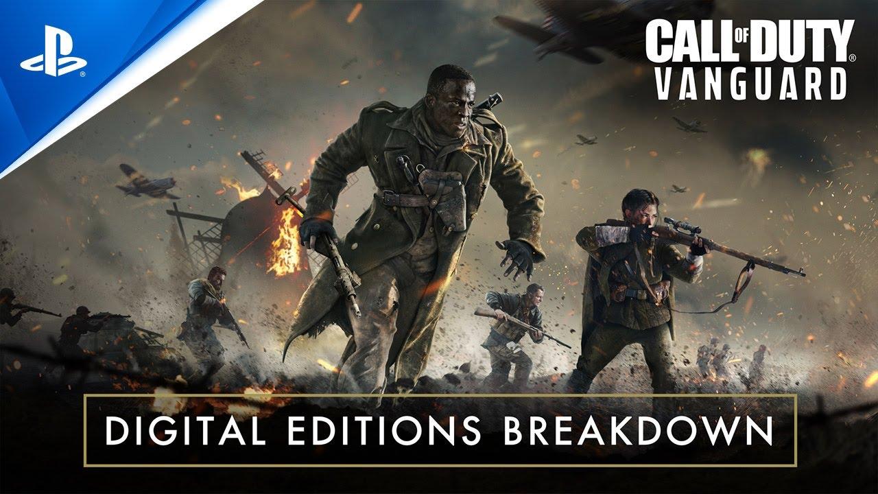 Call of Duty Vanguard Tráiler desglose de ediciones digitales