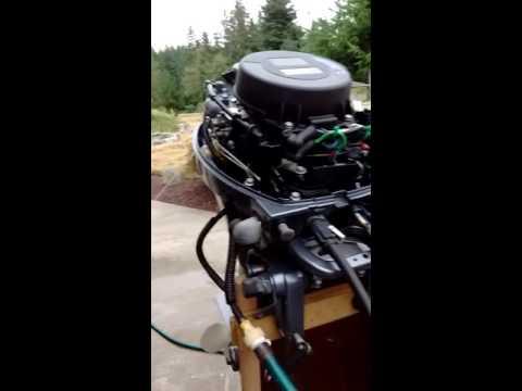 Yamaha 8HP High Thrust Four Stroke, Power tilt, Elec Start