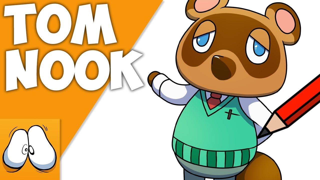 How To Draw Tom Nook Animal Crossing New Horizons Youtube