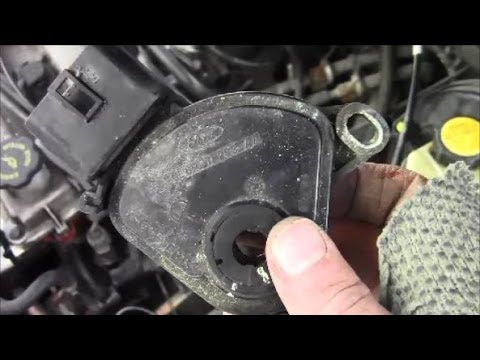 How to Remove Install Selector Lever Position Sensor on Ford Contour
