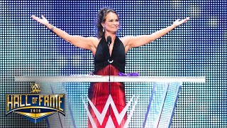 Ivory glows with pride over the Women's Evolution: WWE Hall of Fame 2018 (WWE Network Exclusive)