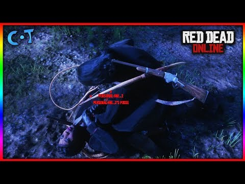 Red Dead Online - Kidnapping Other Players (Lasso Griefing in RDR 2 Online)