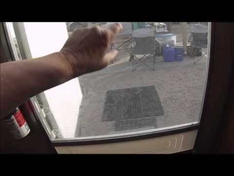 How To Protect Your Rv Screen Door Youtube