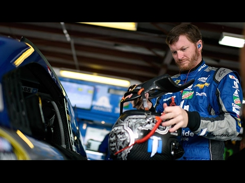 Dale Earnhardt Jr. talks testing at Phoenix - YouTube