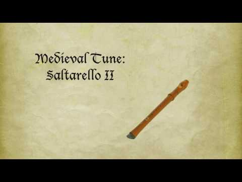 Medieval Tune: Saltarello II (played on recorder)