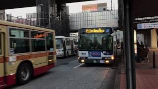 横浜神奈交バス YK1107 最終運行日 (KL-MP35JM) ①