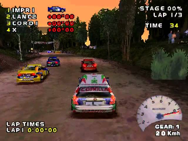 PSX Longplay [119] V-Rally - Championship Edition 2