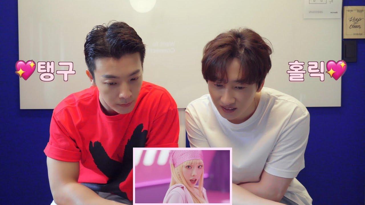SUPER JUNIOR DONGHAE & EUNHYUK l 태연 TAEYEON 'Weekend' MV Reaction