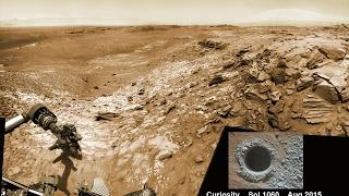 El Curiosity Descubre Algo que deja Helados a los Científicos