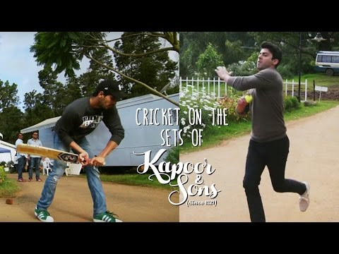 Cricket Match: Kapoor Vs Sons | Sidharth...