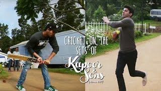 Cricket Match Kapoor Vs Sons  Sidharth Malhotra amp Fawad Khan