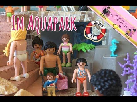 Playmobil im aquapark baden im spielzeug wasserpark for Esstisch 2 00 m