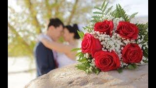 С Днем свадьбы Аделя и Ришат!
