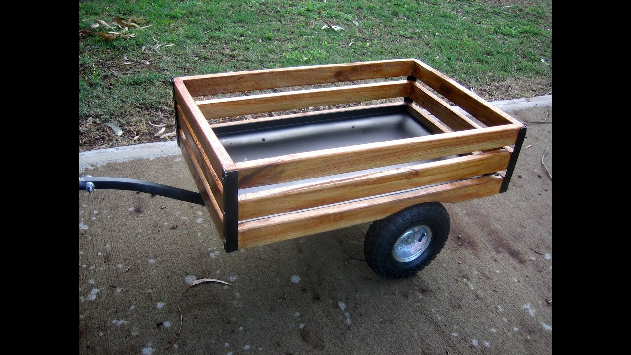 Gopher trailer custom build for mobility scooter youtube for Mobility chair