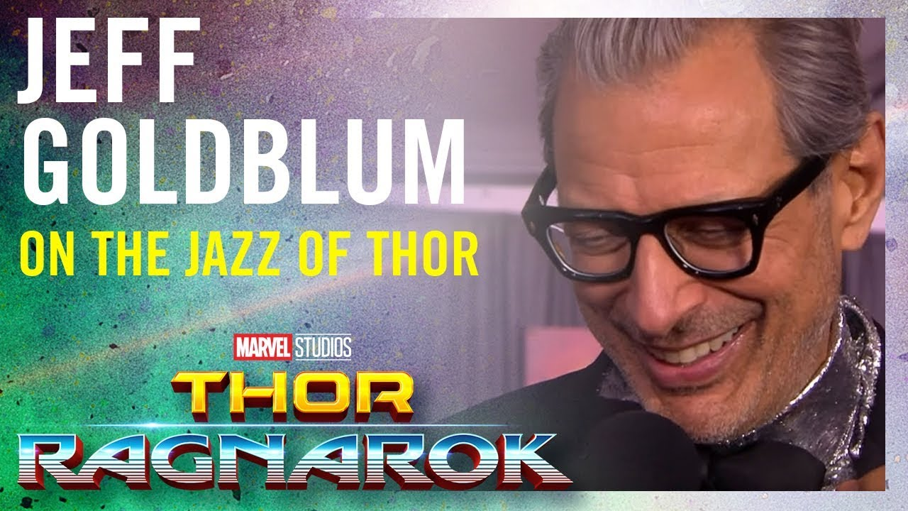 Jeff Goldblum On the Jazz of Thor: Ragnarok -- Marvel