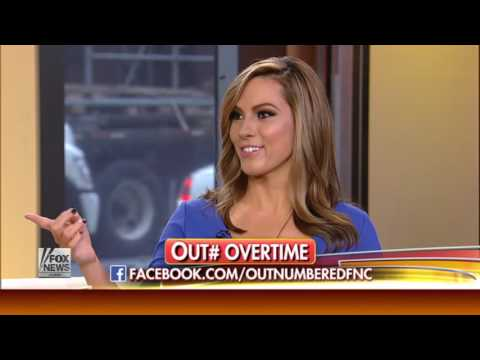 Lisa Boothe on a Fox News Channel panel