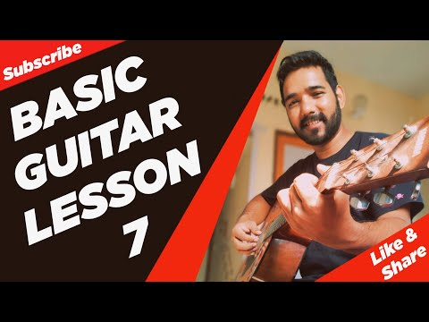 Basic Guitar Lesson 7 (Shifting Chords) for Beginners in (Hindi)  by Acoustic Pahadi
