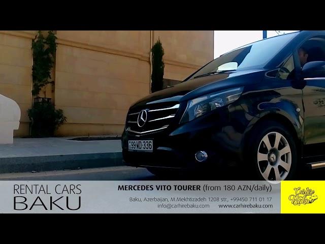 Mercedes Vito Tourer / Rent a car Baku from CARHIREBAKU company