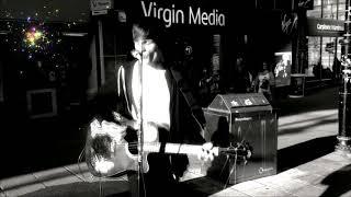 HALIFAX & BRADFORD BUSKER Frankie Porter Sings Dreaming of You