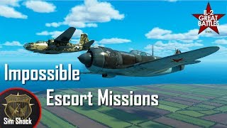 Impossible Escort Missions w/BoTimeGaming and Bismarck - IL-2: Battle of Kuban