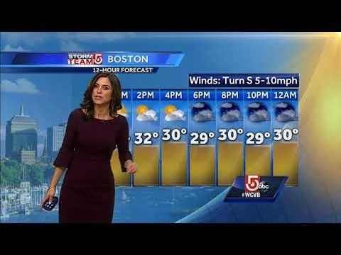 Video: Several inches of snow expected Wednesday