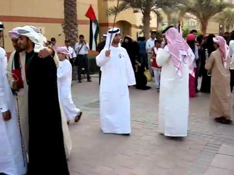 Emirati Arabic Dance UAE Dubai Academic City