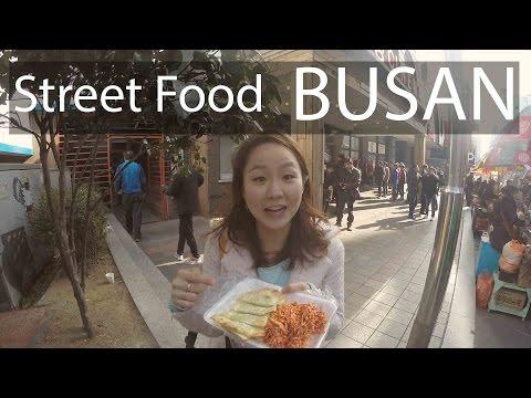 Busan Trip! Korean Street food!