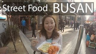 Busan Trip! Korean Street food!