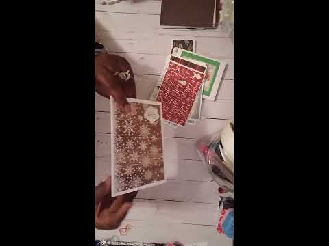 Project Share - All Things, Xmas Cards, Pencil Cases and more Altered Cutting Boards