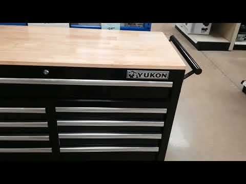 46 In Mobile Storage Cabinet With Wood Top Yukon | Bruin Blog