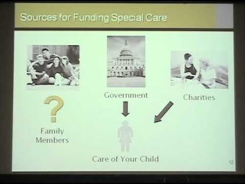 Planning for the Financial Future Needs of Children with Dis