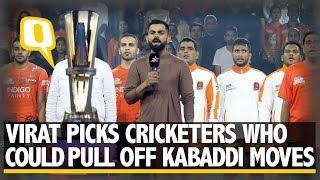 Star Sports: Virat Kohli at Pro Kabaddi Match, Picks Cricketers Who Could Play Kabaddi    The Quint