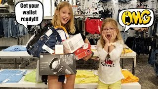 Whatever My SISTER Can CARRY I'll BUY It Challenge!!!