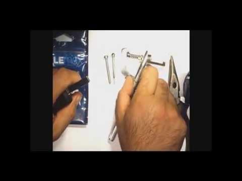 Utilisation De La Pince Chasse Goupille Youtube