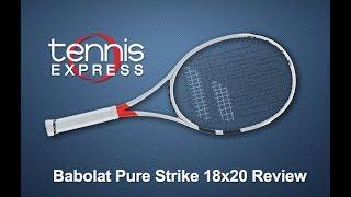 Babolat Pure Strike 18 x 20 Racquet Review | Tennis Express