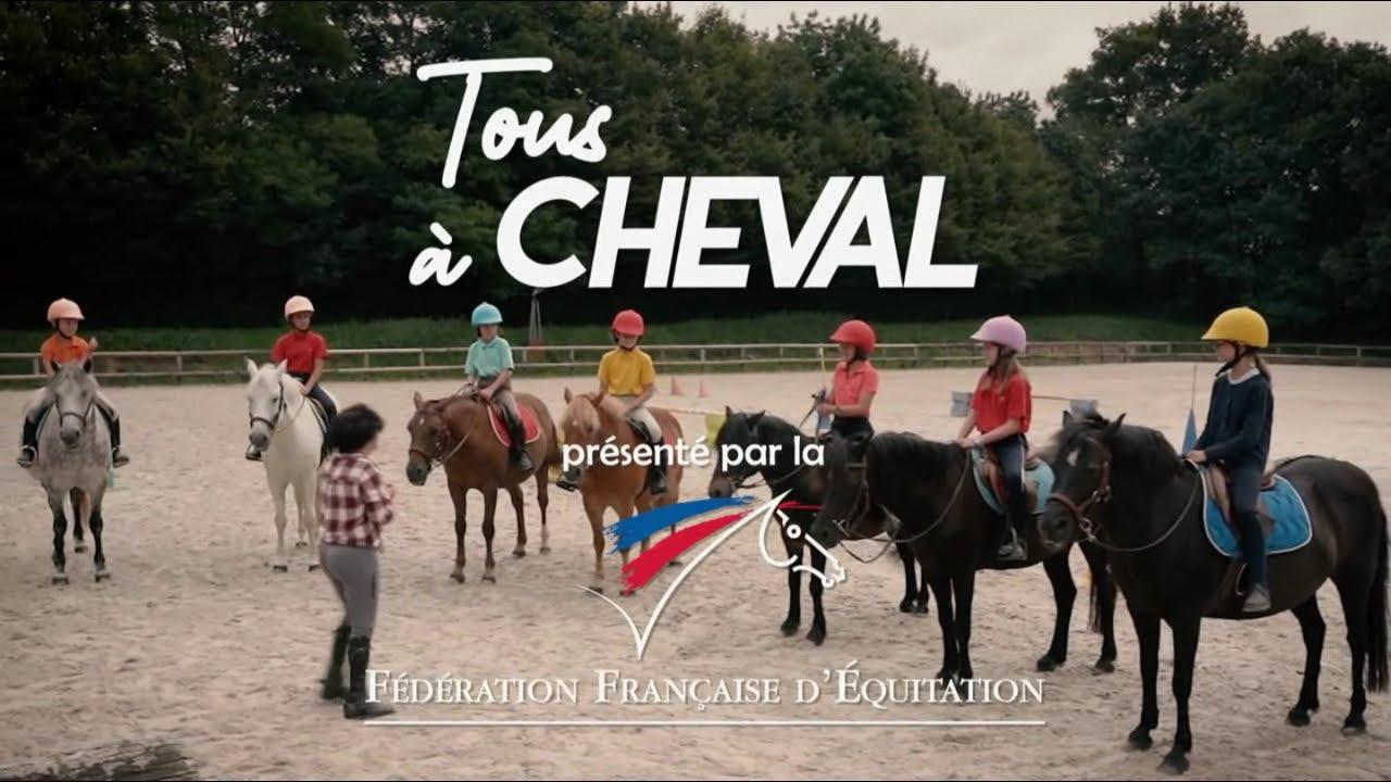 """Musique de la pub FFE Fédération Française d'Équitation – poney club """"Tous à cheval""""  2021"""