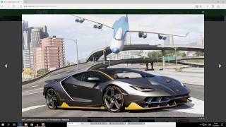 How to Install Add On Car Mods In GTA 5 PC!  *EASY AND FAST* Lamborghini Centenario LP 770