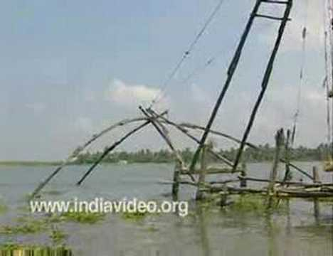The cantilever fishing net