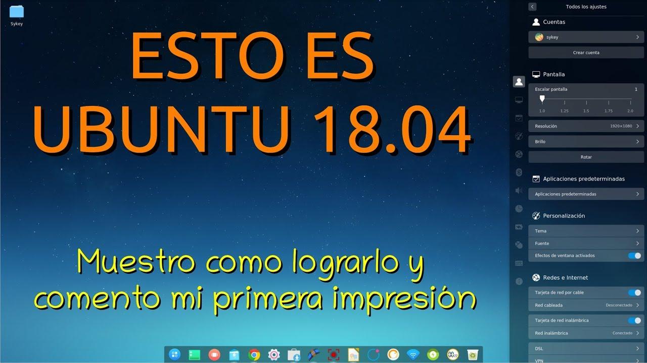 Esto es Ubuntu 18 o Linux Mint 19 o a lo mejor es Deepin 15 o le llamaremos DUBUNTU 🤔