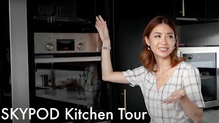 Modern Kitchen Tour #SkyKitchen #SkyPod | Kryz Uy