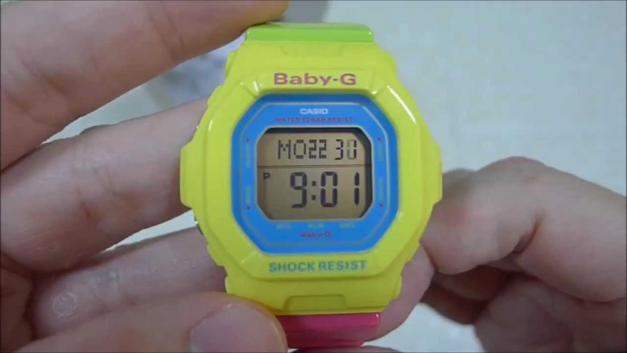 Casio G-Shock - Baby-G - Energetic Colors [BG-5607-9JF ...